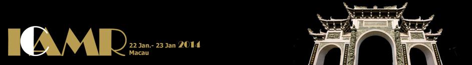 ICAMR 2014 Logo